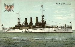 USS Vermont on the Water