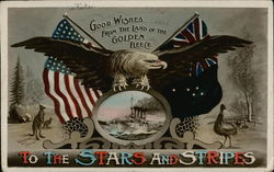 Good Wishes from the Land of the Golden Fleece to the Stars and Stripes