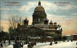 St. Isaac's Cathedral Postcard