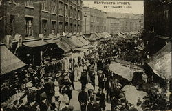 Wentworth Street, Petticoat Lane Postcard
