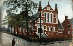 Wesleyan Methodist New Church, Highgate Postcard