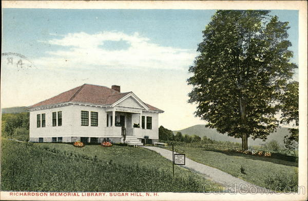 Richardson Memorial LIbrary Sugar Hill New Hampshire