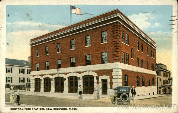 Central Fire Station New Bedford Massachusetts