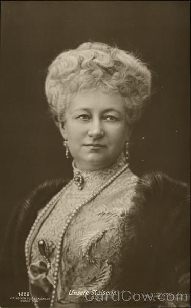 New To You >> Augusta Victoria of Schleswig-Holstein Royalty