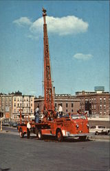 Boston Fire Dept. Tower No. 1 Postcard