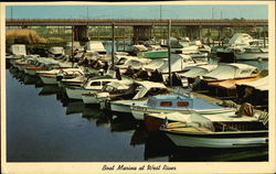 Boat Marina at West River