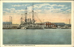 Navy Yard from Water Front, Portsmouth, VA