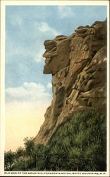 Old Man of the Mountain, Franconia Notch, White Mountains, N.H