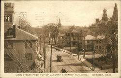 Main Street from Top of Larchar & Branch Building