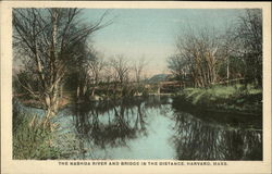 The Nashua River and Bridge