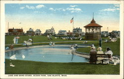 Lake and Band Stand, Ocean Park