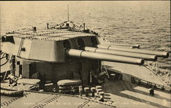 "Triple Turrets of 16 in. Guns - H.M.S.'s ""Nelson"" and ""Rodney"""