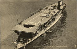 "Aircraft Carrier H.M.S. ""Courageous"""