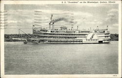 "S.S. ""President"" on the Mississippi"