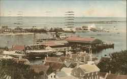 Nantucket Harbor and Brant Point