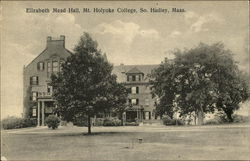 Mt. Holyoke College - Elizabeth Mead Hall