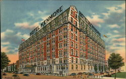 Hotel Kenmore, Commonwealth Avenue at Kenmore Square