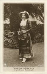 Princess Victoria Louise in National Dress