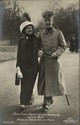 Prinz Ernst August and Prinzessin Victoria Luise