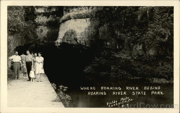 Where Roaring River Begins, Roaring River State Park Cassville Missouri