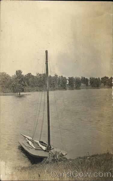 Sailboat on Lake Eara Libertyville Illinois Sailboats