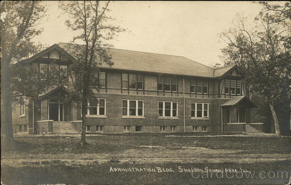 Administration Bldg., Sheldon School Area Mundelein Illinois