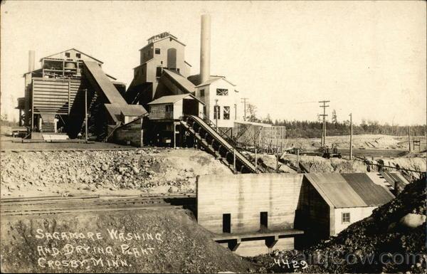 Sagamore Washing and Drying Plant Crosby Minnesota