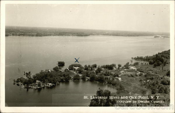 St. Lawrence River Oak Point New York