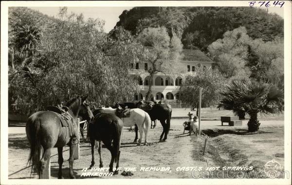 A part of the Remuda Castle Hot Springs Arizona