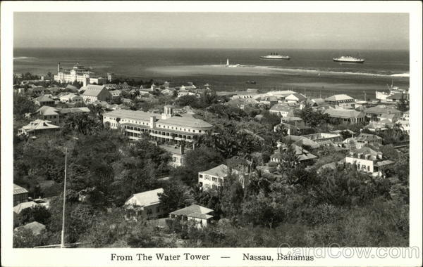 From the Water Tower Nassau Bahamas Caribbean Islands