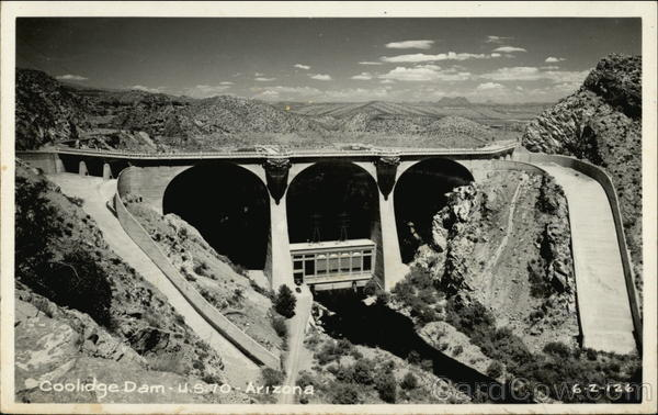 Coolidge Dam, US 70 Arizona