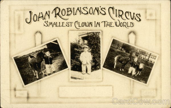 Joan Robinson's Circus, Smallest Clown in the World