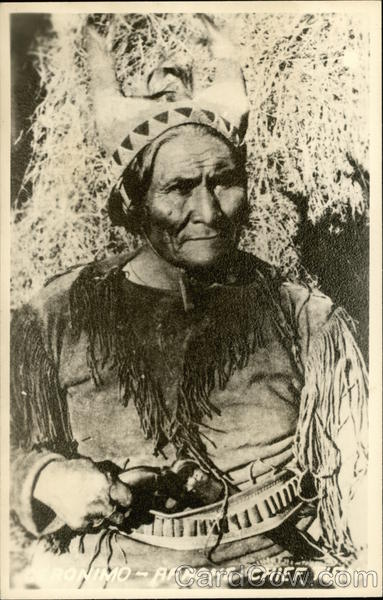 Geronimo - Apache Chief Native Americana