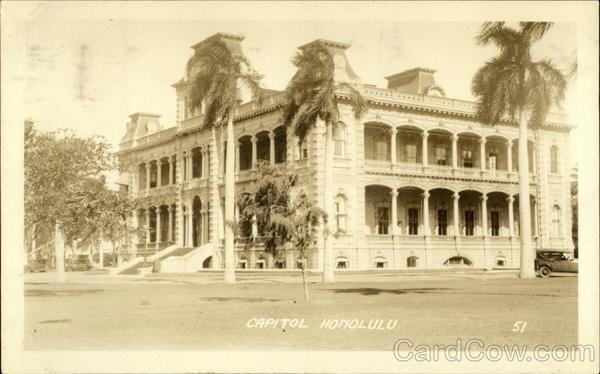 Capitol Honolulu Hawaii