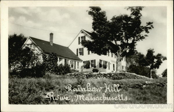 Rainbow Hill for gracious country dining Rowe Massachusetts