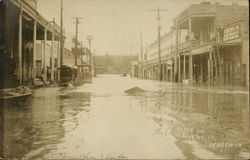 Flood on Myers Street, March 18 1907