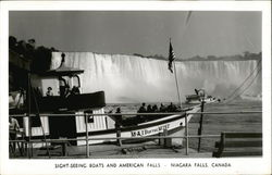 Sight-Seeing Boats and American Falls