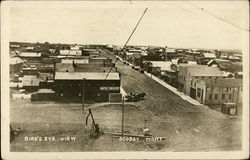 Bird's Eye View of Scobey