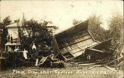 Plain City after Cyclone, June 16, 1912