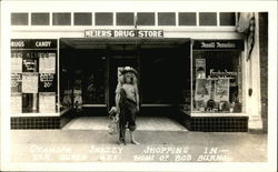 Grandpa Snazzy Shopping at Meier's Drug Store