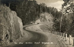The New Quebec Road Postcard