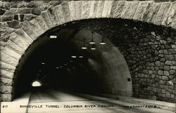 Bonneville Tunnel Columbia River Highway