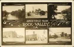 Greetings from Rock Valley, Ia