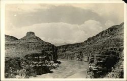Bequillas Canyon Postcard