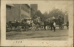 Horse-Drawn Carriages, 1903