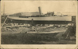 Steamboat Being Built