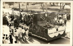 United States Army Panama Canal Department Float
