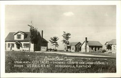 Lincoln Stone Camp Postcard