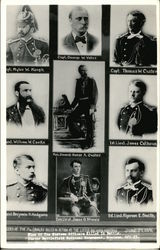 Portraits of Officers of the 7th Cavalry Killed In Action at Little Big Horn