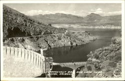 Roosevelt Dam and Lake Near Globe, Arizona